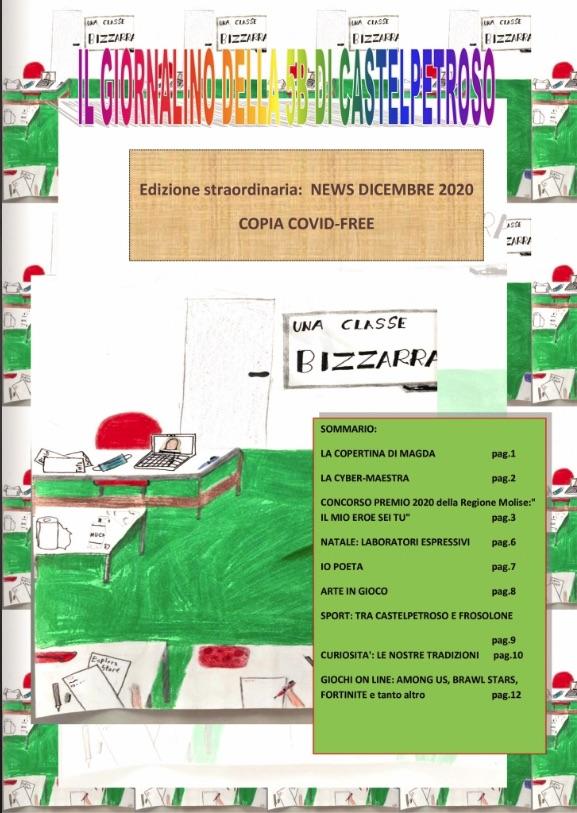 Scuola Primaria di Castelpetroso: Il giornalino della 5B
