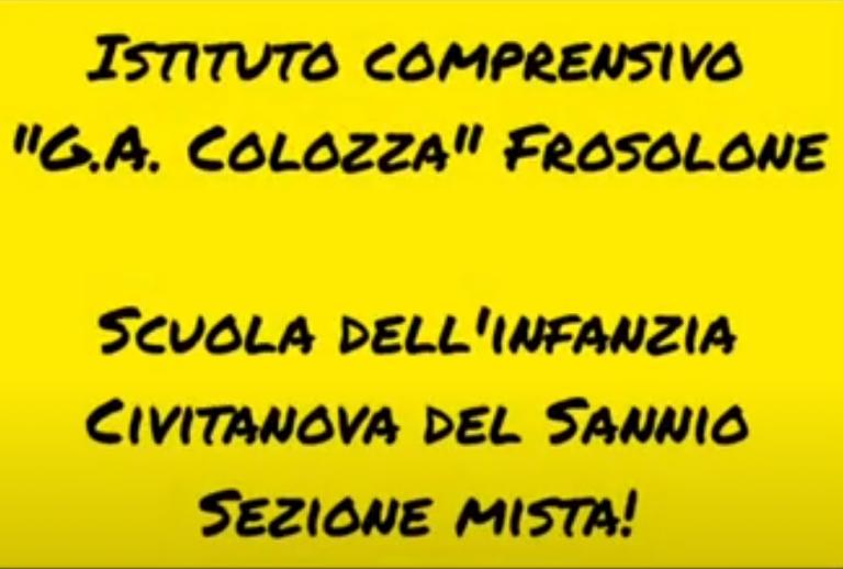 Open day virtuale: scuola dell'infanzia Civitanova Del Sannio sezione mista