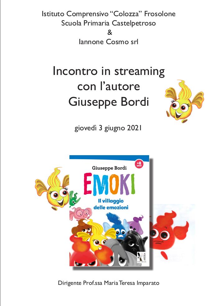 Incontro con l'autore Giuseppe Bordi